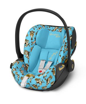 Cybex Cloud Z i-Size Babyskydd Jeremy Scott/Cherub Blue One Size