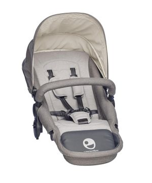 EasyWalker Harvey Sittdel Steel Grey One Size