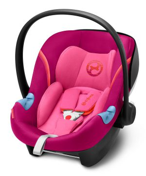 Cybex Aton M i-Size Babyskydd Passion Pink One Size